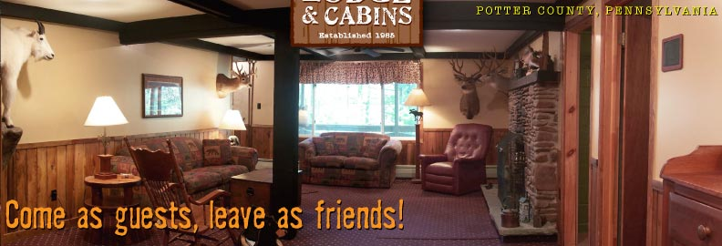 Welcome To Kettle Creek Lodge